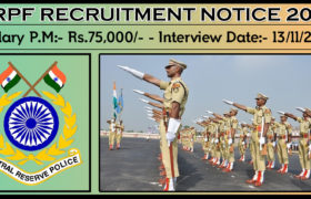 CRPF Recruitment 2018