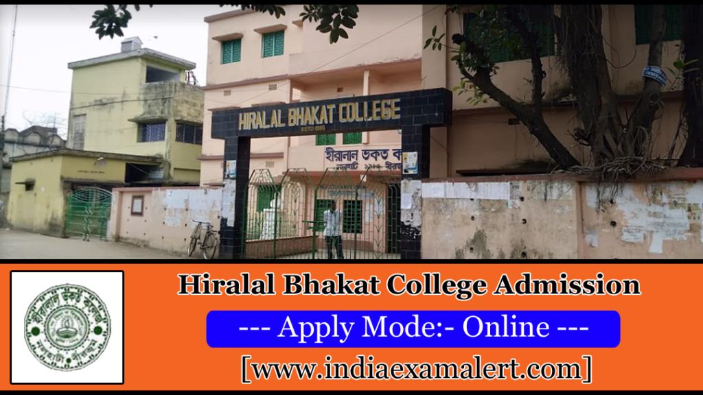 Hiralal Bhakat College Admission 2019