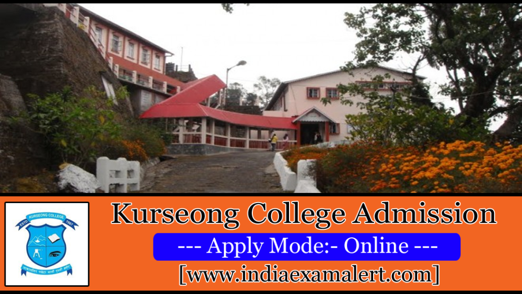 Kurseong College Admission 2019
